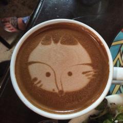 Mocha Latte with Almond Milk