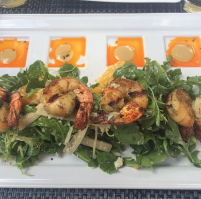 Hearts of Palm Salad with Shrimp