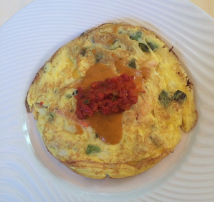 Lobster and Crab Omelette