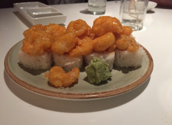 Spicy Rock Shrimp Roll