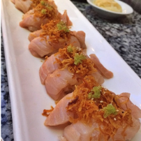 Albacore Belly Sushi