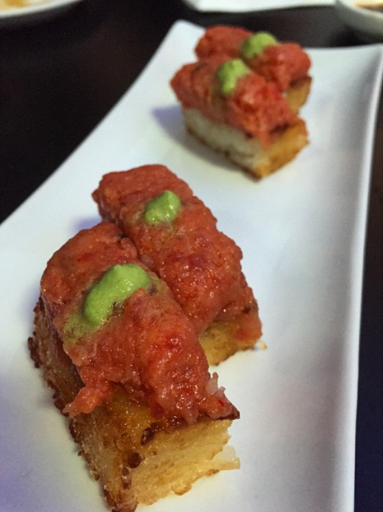 Crispy Rice and Spicy Tuna