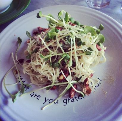 Kelp Noodle Salad
