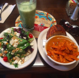 Urth Salad and Tortilla Soup