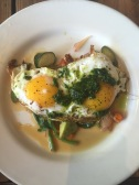 Crispy Sunny Side Up Egg