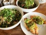 Stir Market: Crunchy Baguette topped with sliced avocado